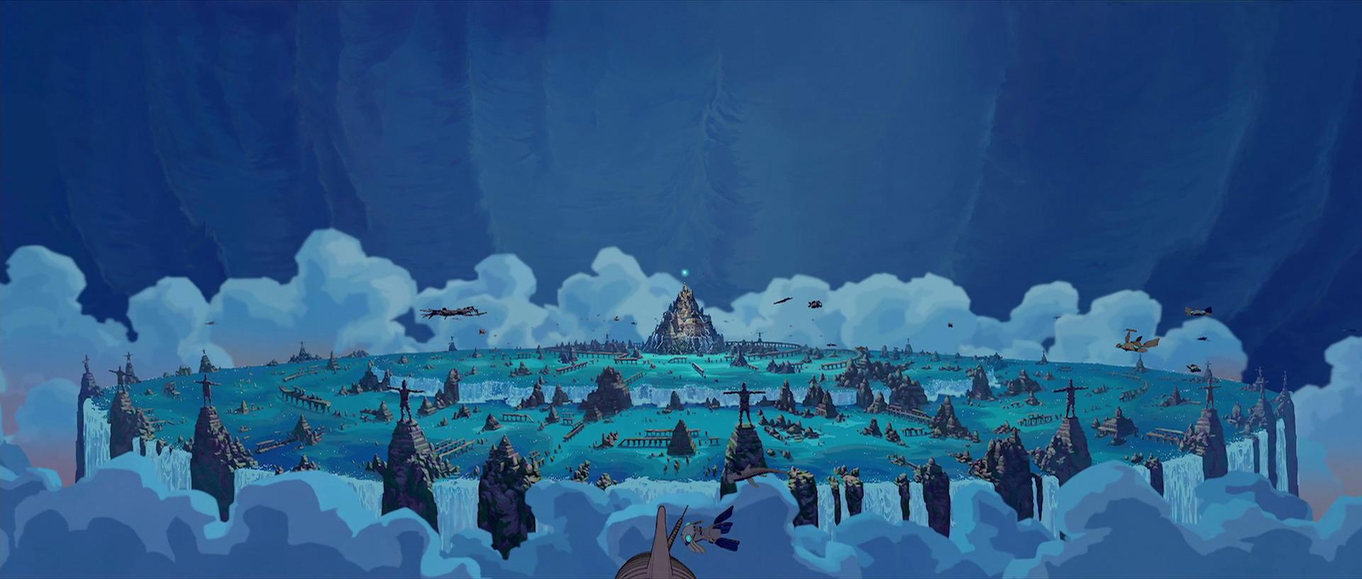 Atlantis u l impero perduto tra cartone animato e belle